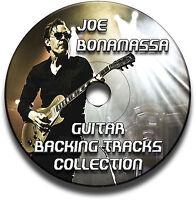12 JOE BONAMASSA STYLE BLUES GUITAR BACKING TRACKS AUDIO CD ANTHOLOGY JAM TRAXS