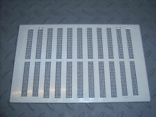 """!NEW! 6.5""""x9.5"""" Hit & Miss Air Vent Ventilator Cover White Adjustable Flyscreen"""