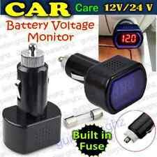 New Digital Led Display Car Auto Battery Voltmeter Panel DC 12/24v Voltage Meter