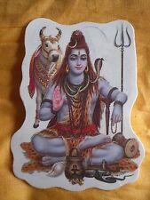 Aufkleber goa psy hippie sticker indien inde Ganesha Shiva Nandi yoga om gott