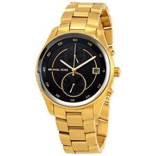 Michael Kors Briar Black Dial Ladies Multifunction Watch MK6497