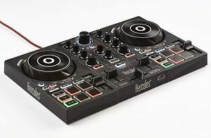 DJ Controller Hercules DJ Control Inpulse 200 2Deck DJ Audio IMA8 Mixer 8 Pads