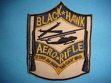 "VIETNAM WAR PATCH US D TROOP 2nd SQUADRON 1st CAV RGT AERORIFLE ""BLACK HAWK"""