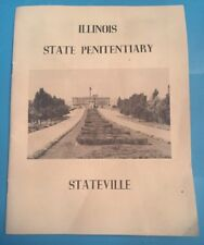 Illinois state penitentiary Stateville 1940s booklet