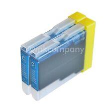 2 Drucker Tinte Patronen für Brother LC970 DCP130C DCP135C MFC230C MFC235C C