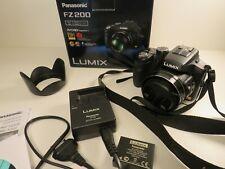 Panasonic Lumix FZ200 Digital Bridge Kamera 24x FullHD schwarz 12,1