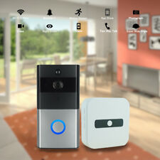 Wireless WiFi Smart Doorbell HD Video IR Camera Motion Detect+Indoor Receiver