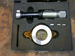 """Bowers 1"""" to 1.5""""  3 Point Bore Mic Micrometer Gauge Set"""