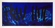 Michel Braun Serigraphie Originale signée art abstraction pop art abstrait