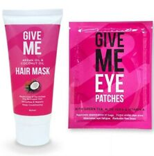 Give Me - Argan Oil & Coconut Oil Hair Mask& Pink Gel Eye Patches⚡Fast Dispatch⚡