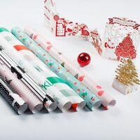 5 Sheet Christmas Gift Waterproof Wrap Package Paper Christmas Paper 59.5CM*44CM