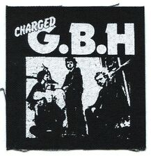 G.B.H. group shot CLOTH PATCH **FREE SHIPPING** -sew on punk gbh charged