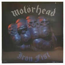 Motorhead Iron Fist New Vinyl LP Lemmy Factory Sealed Copy