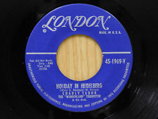 Charly Tabor 45 Holiday In Heidelberg / Angel Blues/   London VG++