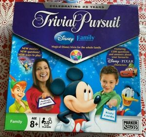 Trivial Pursuit DISNEY Family Edition Board Game