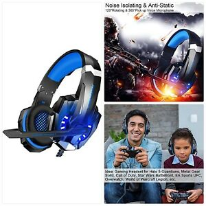 BlueFire Stereo Gaming Headset for PS4, PC, Xbox One Controller, Noise Cancellin