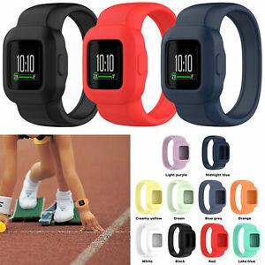 Silicone Watch Band Strap for Garmin Vivofit jr.3 GPS Activity Tracker