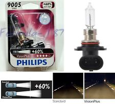Philips VIsion Plus 60% 9005 HB3 65W One Bulb Head Light High Beam Halogen Lamp