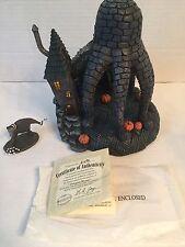 2005 Hawthorne Village Nightmare Before Christmas Octopus House & Creature Set