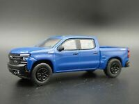 2019 CHEVY CHEVROLET SILVERADO Z71 TRAIL BOSS  W/ HITCH 1:64 DIECAST MODEL CAR