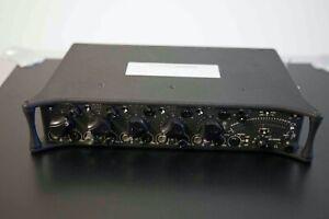 Sound Devices 552, Tasche, Akkus, Ladegerät