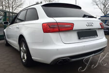 Fits AUDI A6 C7 (2011-2014) - S-Line Look Rear Diffuser Lip Spoiler Add On