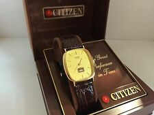 Citizen QC-0222 MUG ROOT BEEAR Quartz  Collectible Watch