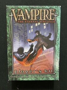 Vampire The Eternal Struggle Player's Kit - See Description