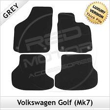 VOLKSWAGEN VW GOLF mk7 2013 in poi su misura 1300g di Lusso Tappeto Tappetini Grigio