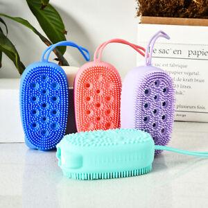 Bath/Shower Loofah Silicone Brush Body scrub Gentle Body Brush Skin Scrubber