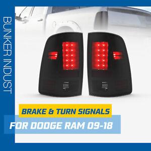 BUNKER INDUST LED Tail Light for For 2009-2018 Dodge Ram 1500-3500