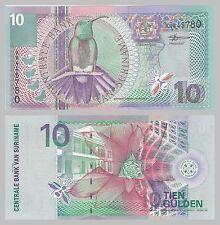 Surinam / Suriname 10 Gulden 2000 p147 unz.