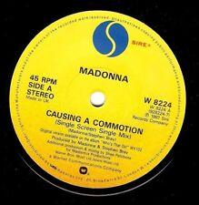 Madonna provocando una conmoción Vinyl Record 7 in (approx. 17.78 cm) Sire W 8224 1987