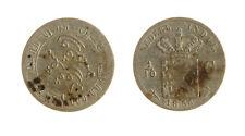 s1170_218) NETHERLANDS INDIES - INDIE OLANDESI 1/10 GULDEN  AG 1854