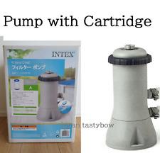 Intex 1000 GPH Easy Set Swimming Pool Cartridge Filter Pump 28637 100V w/Filter