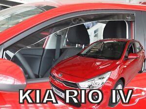 SET 2 DEFLETTORI ARIA  ANTITURBO per KIA RIO 5 porte 2017-ad oggi