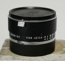 Leica Leitz Extender-R 2x  for Leica R4 and R3 with caps clean glass