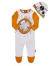 Baby Boy Star Wars BB-8 All In One Babygrow/Sleepsuit/Fancy Dress Costume 18-24m