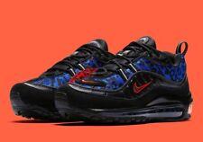 Nike Women's Air Max 98 Premium Black Leopard Size 6 Uk 40 Eu BV1978-001
