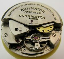Felsa F 700 automatic Onsa watch movement & dial 17 jewels for parts ...