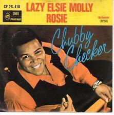 7inch CHUBBY CHECKER lazy elsie molly HOLLAND EX  CAMEO (S0454)