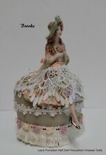 Collectible Miniature Doll - Half Doll w/ LEGS, Boudoir Doll, One of a Kind