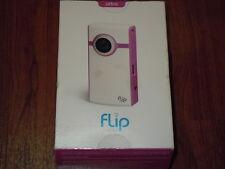 NEW in Box - Flip Video U1120 U1120P 4GB 120 min Camcorder - PINK - 892684000397