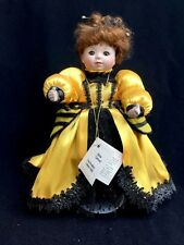 "Marie Osmond 10"" Porcelain Collector Doll Queen Bee Ladybug Ball No Original Box"