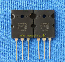 10pair 2SA1987 & 2SC5359 TOSHIBA A1987 & C5359 Audio Transistor TO-3PL