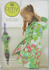 PATTERN - Little Splashes -  raincoat or jacket PATTERN for little girls