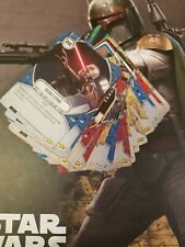 Star Wars Destiny Complete Uncommon Set - 43 Cards - Legacies