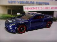 2018 HW EXOTICS Design ASTON MARTIN DBS☆dark blue; red rim mc5☆LOOSE Hot Wheels