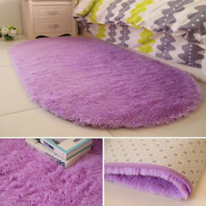 Fluffy Large Rugs Anti-Slip SHAGGY RUG Super Soft Mat Living Room Floor-Bedroom