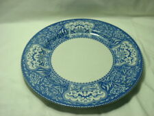 """Spode Blue Room Collection """"Floral"""" 12 3/4"""" Plate"""